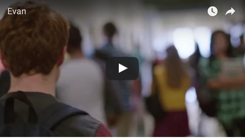 Screenshot of video, click to watch. A creative PSA on gun violence awareness from Sandy Hook Promise.